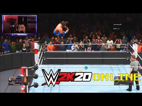WWE 2K20 Online - I'M GOING TO WRESTLEMANIA 37