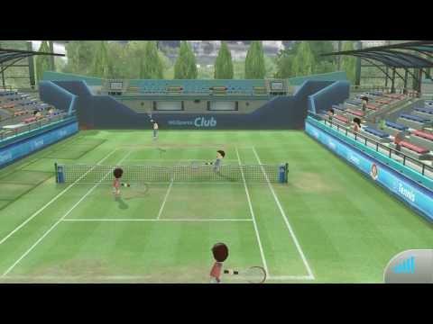 Liveplay - Wii U - Wii Sport Club - Tennis Online