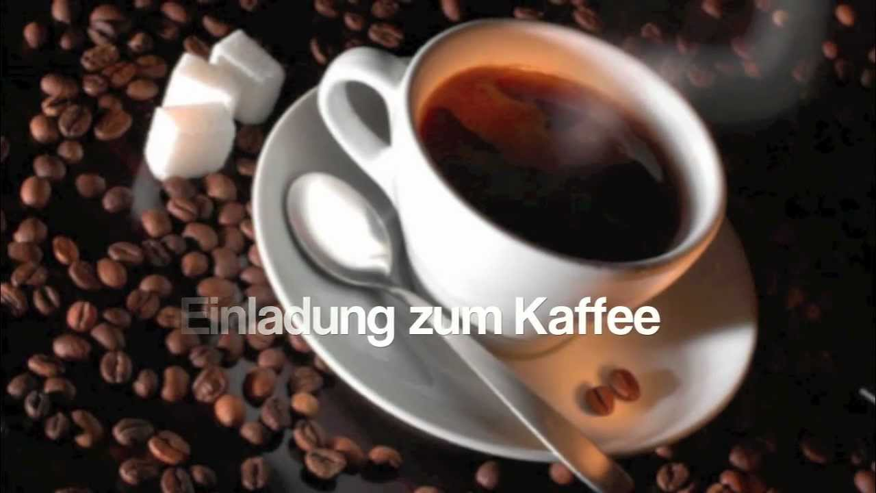 einladung zum kaffee - © bernd töpfer (gedicht) -178- - youtube, Einladung