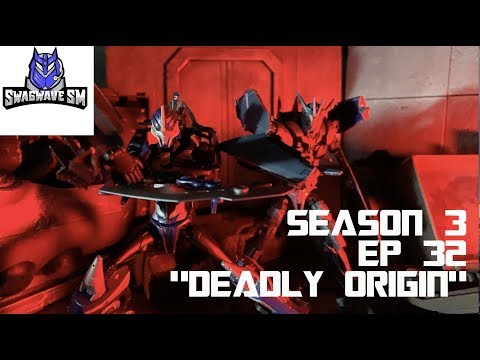 Transformers Prime Legacy Episode 32- 'Deadly Origin' [Stop Motion Series]