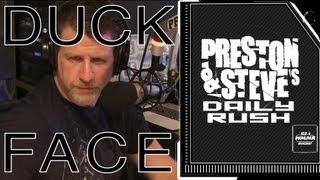 Preston's Duck Face- Preston & Steve's Daily Rush