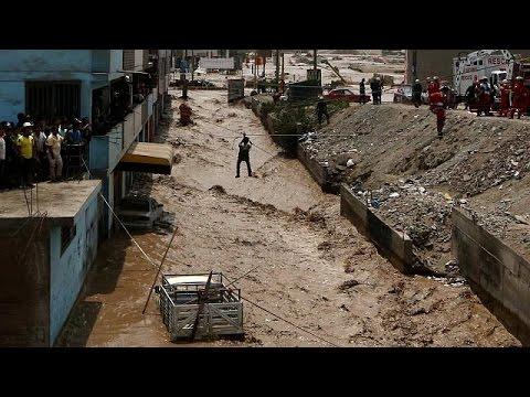 Perù colpito da piogge alluvionali, 62 i morti