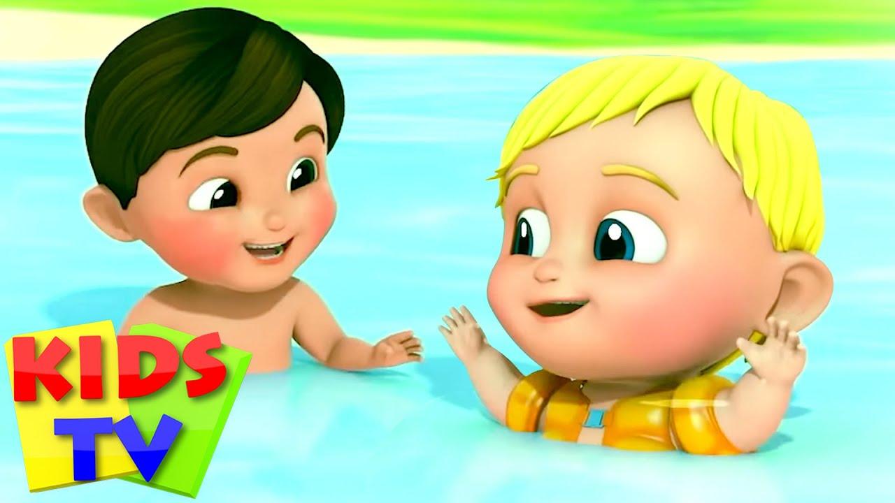 Swimming Song | Beach Song + More Nursery Rhymes & Kids Songs | Baby Songs & Cartoon by Kids Tv