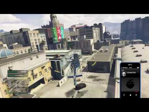 """Grand Theft Auto 5 Online """"Backing Up The Work"""" (Ps4)"""