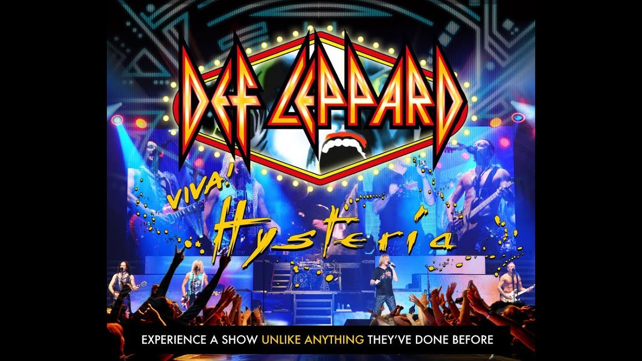 Resultado de imagen de Def Leppard - Viva! Hysteria (Full Concert) [HD]