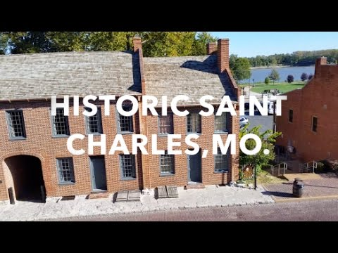 """HAUNTED HISTORICAL SAINT CHARLES, MISSOURI - SYFY'S """"GHOST HUNTERS"""" JUST FILMED HERE"""