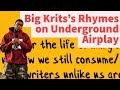 Rap Tips from Big Krit's Underground Airplay - Rhyme Schemes Analysis
