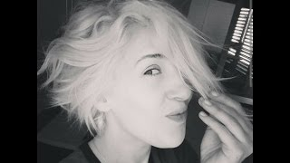 Entretenir un blond platine et mes impressions.