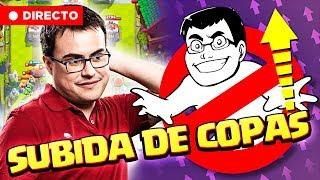 SUBIDA DE COPAS GARANTIZADA (¡¡ FANTASMA !!) | Clash Royale