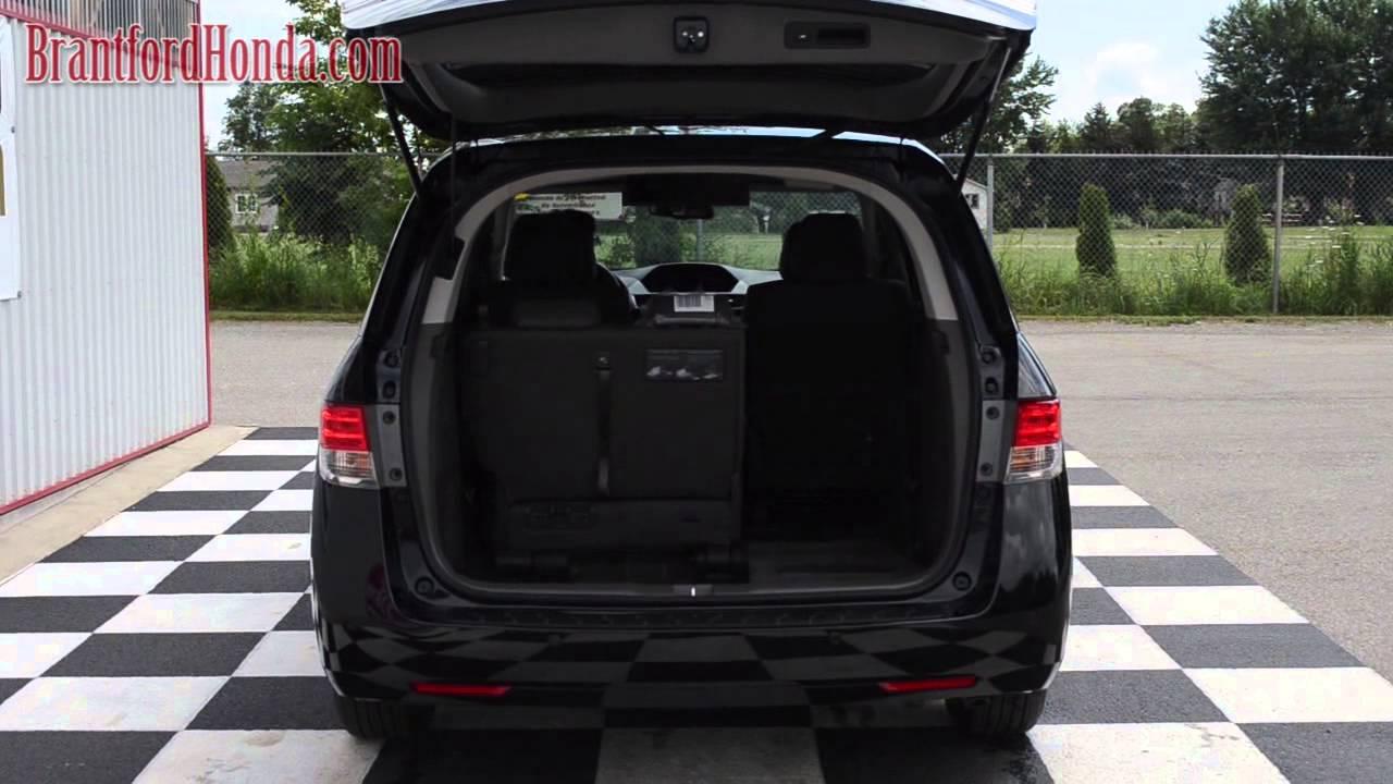 2014 Honda Odyssey Power Tailgate Youtube