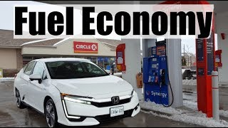 2018 Honda Clarity - Fuel Economy MPG Review + Fill Up Costs