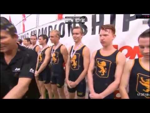 Aon Maadi Cup 2015 Boys Under 18 Coxed Eight + Haka