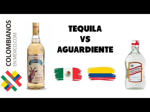 TEQUILA vs AGUARDIENTE - Colombiana Mexicana