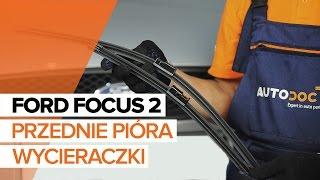 Dowiedz się jak rozwiązać problem z Pióra wycieraczek tylne i przednie FORD: przewodnik wideo