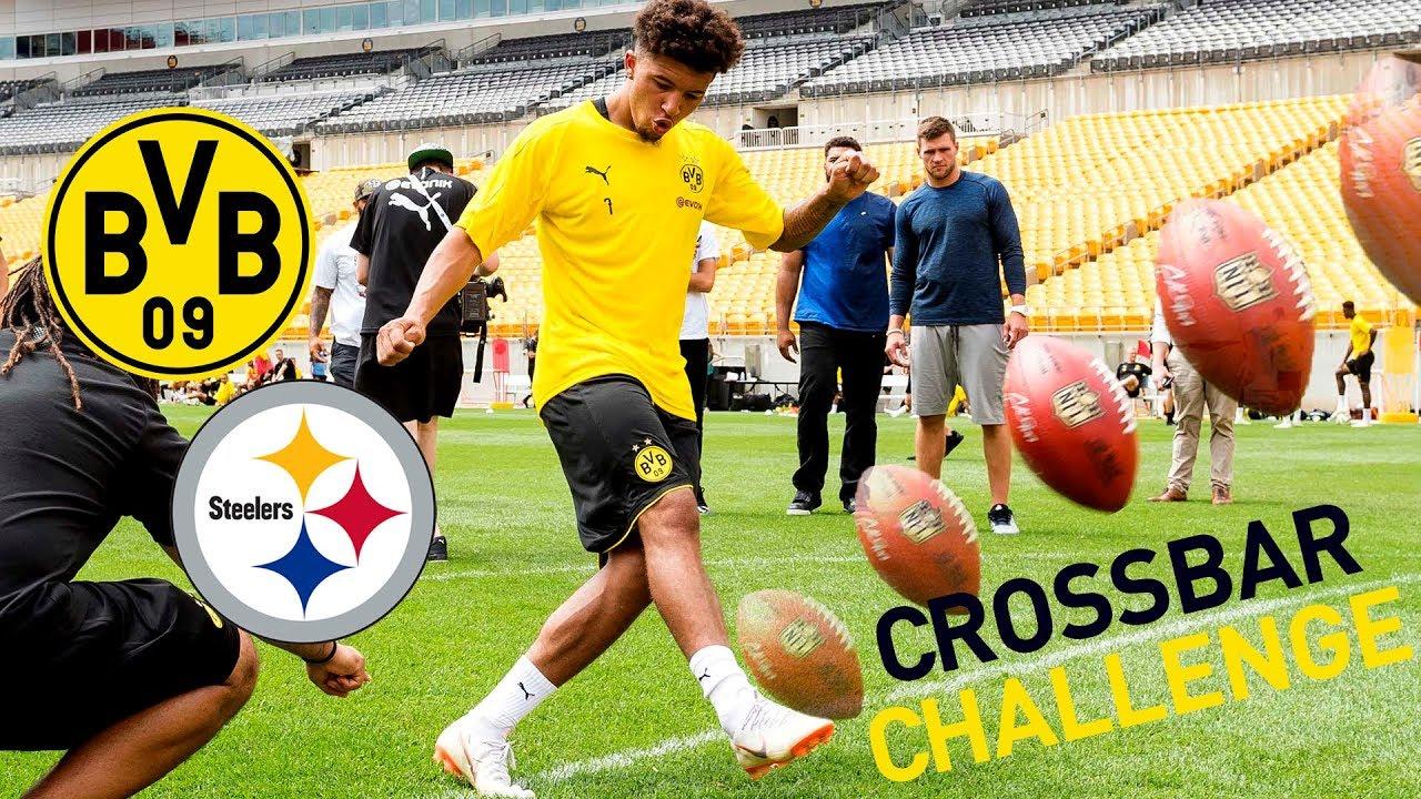 BVB-Training im Heinz Field | Inklusive Crossbar-Challenge vs. Pittsburgh Steelers