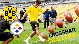BVB Training at Heinz Field w/ Crossbar Challenge vs. Pittsburgh Steelers