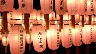 静岡県護国神社みたま祭提灯.AVI