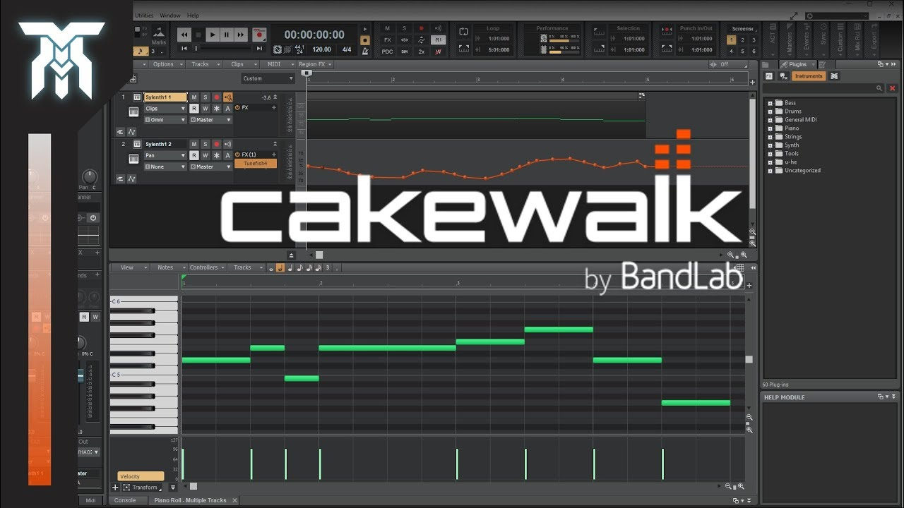 How To Use Cakewalk by Bandlab - Tutorial For Beginners (FREE DAW)