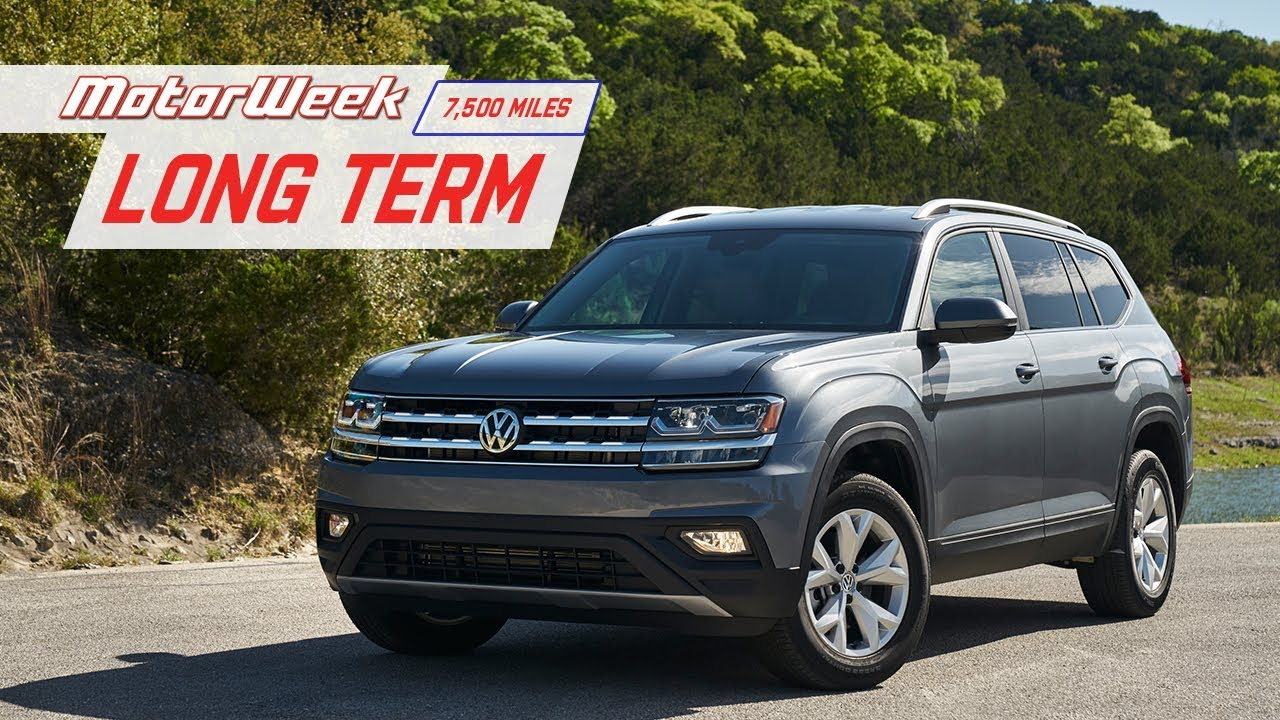 MotorWeek Long Term VW Atlas Hits 7,500 Miles