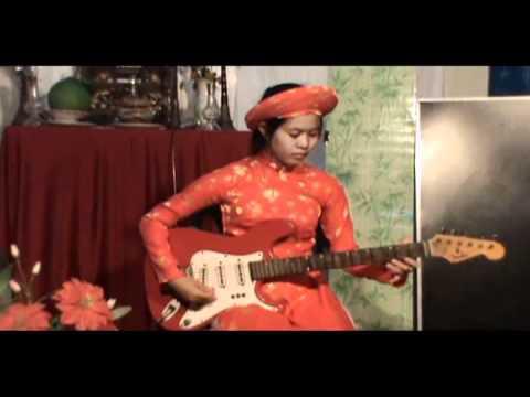 TUYẾT HOA độc tấu guitar: vọng cổ 4-5-6 dây lai (5)