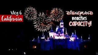 Disneyland REACHED CAPACITY!