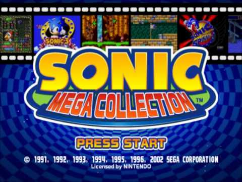 Sonic Mega Collection Intro Theme