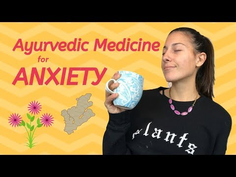 Ayurvedic Medicine for ANXIETY | Vata Tea Recipe
