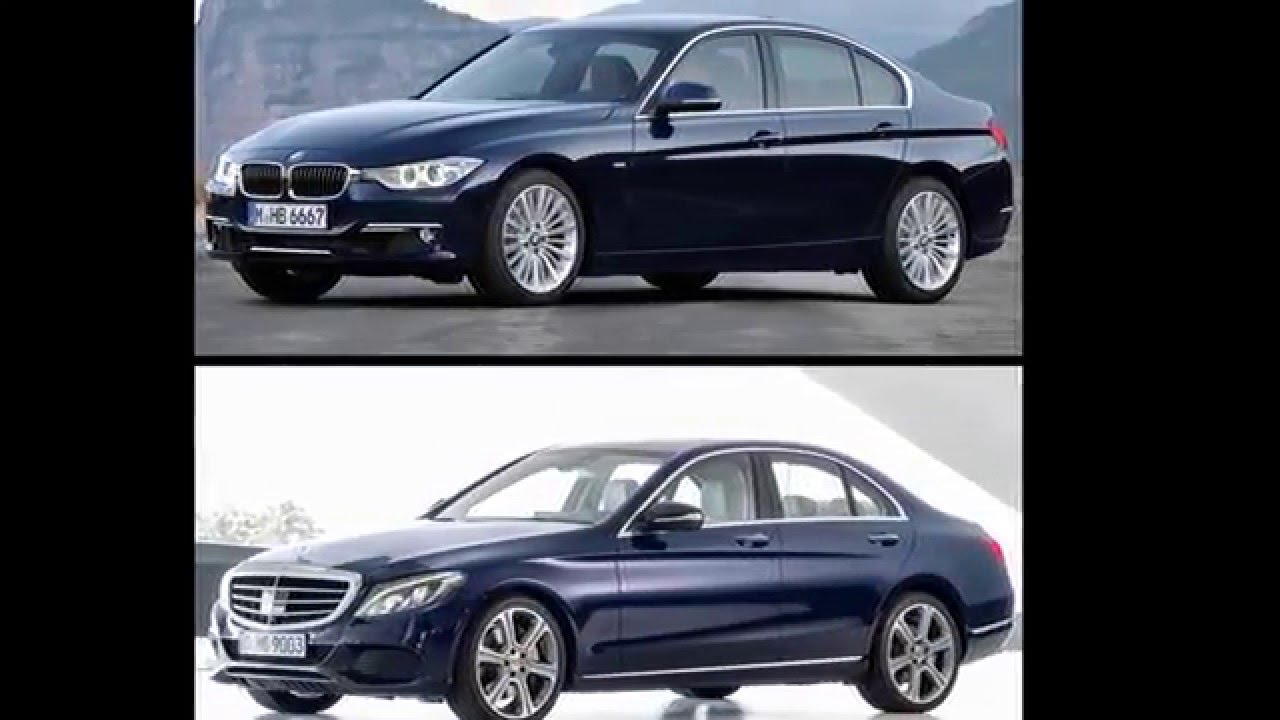 Worksheet. 2015 Mercedes Benz C Class W205 vs BMW 3 Series F30  YouTube