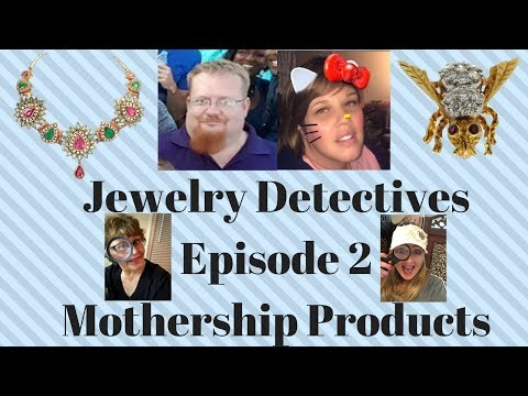 Jewelry Detectives Mothership Products Episode 2 Treasured Vintage Thrifty Treasures
