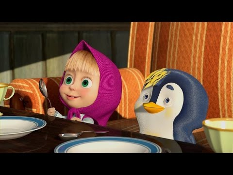 Masha and The Bear - Strips and Whiskers Cartoon compilation for kids