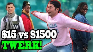 TWERKING in $30 Jeans vs $1500 Jeans!! - DANCING IN PUBLIC!!