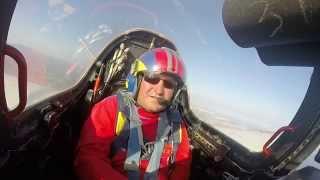 Bapteme de l'air en Fouga Magister
