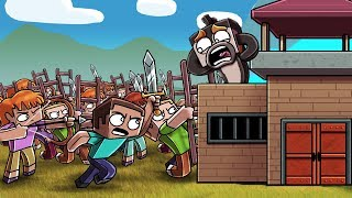 1000 Minecraft Fans Siege My Base!