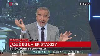 ¿Qué es la epistaxis?