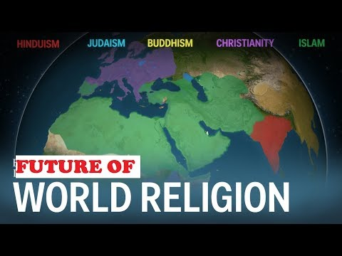 how did buddhism and christianity spread