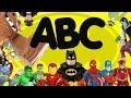 Superhero ABC with Batman Spiderman Superman Iron-Man imaginext toys