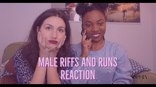 AVERY WILSON AND FAMOUS MALE SINGERS RIFFS REACTION PT 1 Ft EMA PEIU