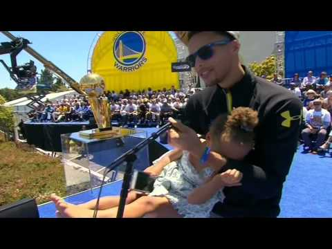 Riley Curry Has Something To Say To The