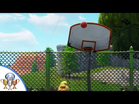 Score A Basket On Different Hoops - Fortnite Challenge Guide - ALL Basketball Hoops In Fortnite