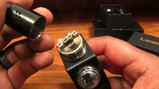 Wotofo Freakshow Tiny Mod and Lush RDA Review - VapingwithTwisted420