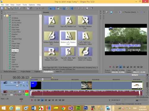 Learn How to Create the video on Sony Vegas Pro 12
