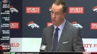 Peyton Manning Post Game