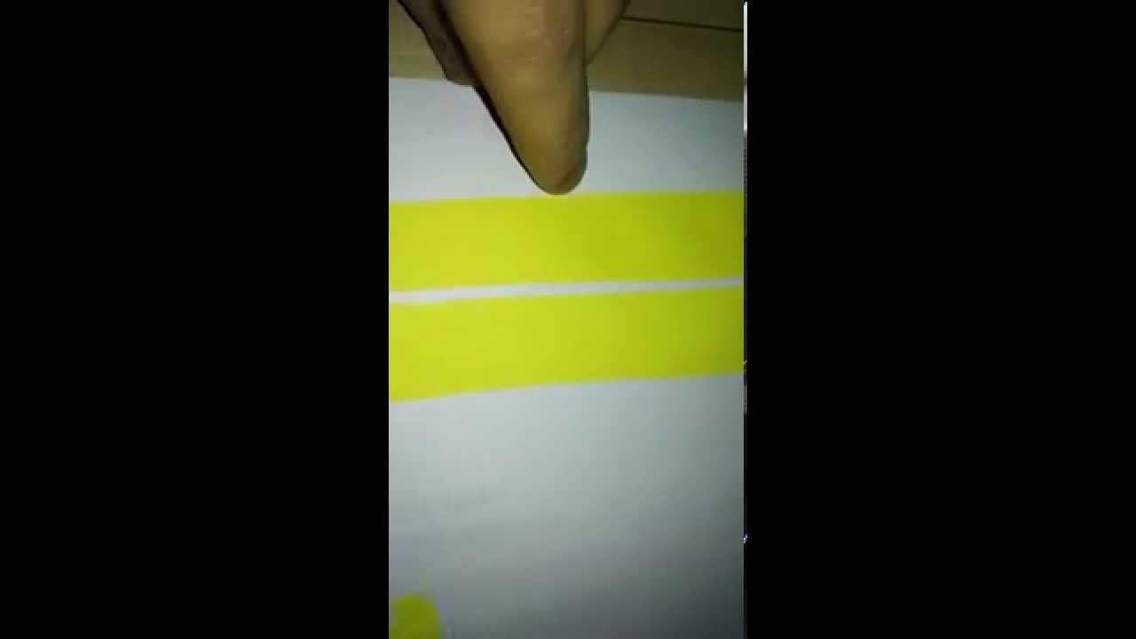 Test! - Epson Inks vs  General Pigment Inks (Manual Drawdown Test)