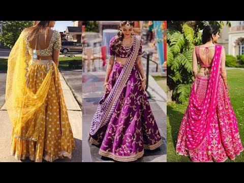 New Trendy Party Wear Lehenga Designs 2020 Latest Lehenga Choli Design Wedding Wear Youtube