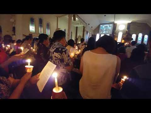 Misa Natal -Lagu Malam Kudus versi Jawa- Ing Ratri- Santo Antonius Purbayan