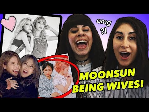 MOONSUN BEING WIVES FOR 20 MINUTES!...