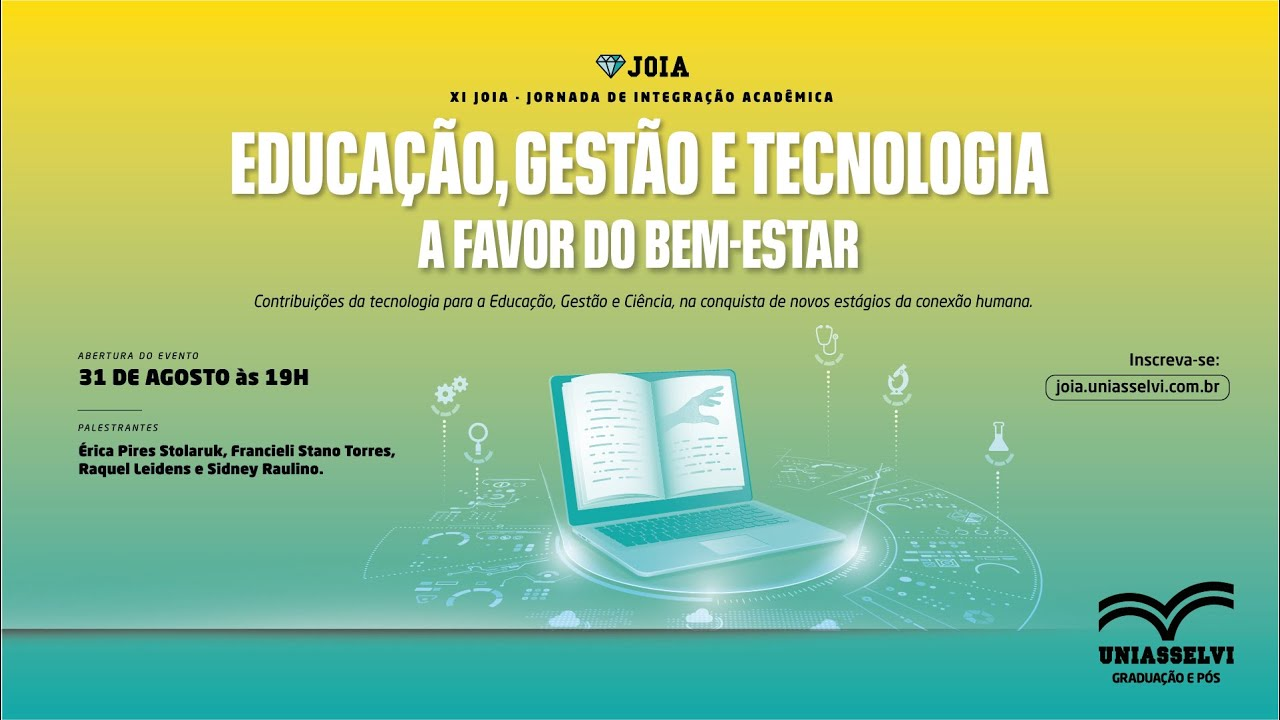 Download XI Jornada de Integração Acadêmica - JOIA | UNIASSELVI