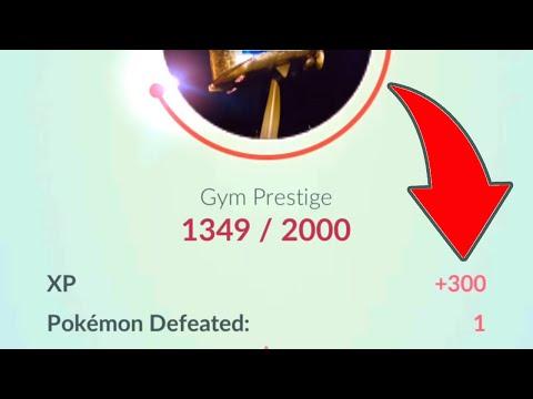 Experience Trick in Pokémon GO! Put Low Level Pokemon on Gyms