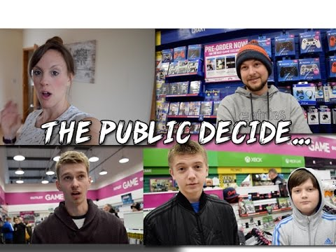 PS4 Pro Vs Xbox One S - Which Would You Buy? Gamers/Public DECIDE (TheGebs24)