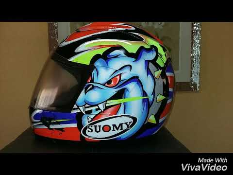 6f7b8de4 Suomy Trek Dog Bargy Design Helmet Gascon